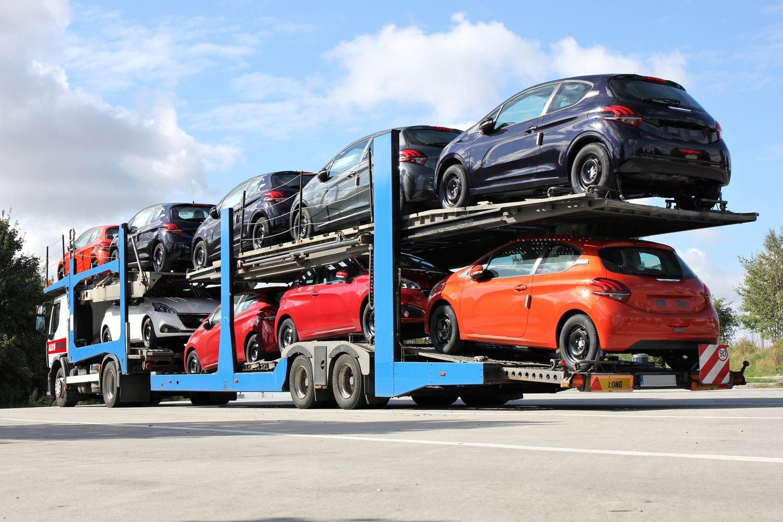 Camión con Peugeot